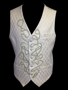 The Vanilla Prince Vest by UrbanPrincessShop on Etsy, $250.00