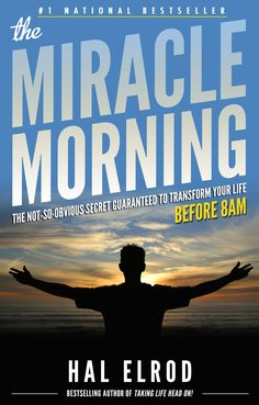 The Miracle Morning !  The cure for procrastination.  Start your morning off right for incredible results throughout the day.