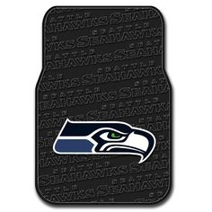 Seattle Seahawks NFL Car Front Floor Mats (2 Front) (17x25)