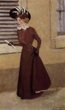 Woman with a Plumed Hat - Felix Vallotton