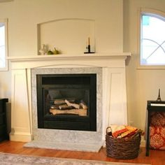 Love this from @custommade - http://www.custommade.com/fireplace-mantel-surround/by/timelesswoodworks/