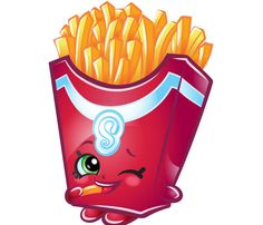 Your original Shopkins toys are back within adorable Mini Packs! We're celebrating 10 amazing Seasons of Shopkins with the debut of Shopkins Mini Packs – the Collectors' Edition. Shopkins Game, Shopkins Food, Shopkins Costume, Shopkins Characters, Shopkins And Shoppies, Fries, Doodle Characters, Moose Toys, Stickers