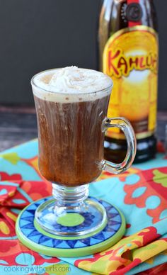 Mexican Coffee Cocktail via @cookwithcurls
