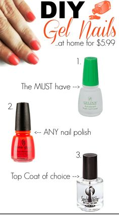 DIY gel nails. I love that green gel base. That stuff is amazing! Got it at Sally's, fyi...