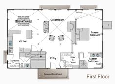 this is the floor plan with Master downstairs.