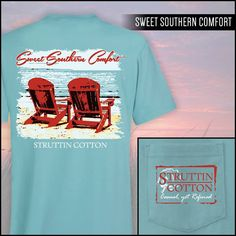 Sweet Southern Comfort Perfect Pocket SS Tee