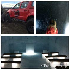 Arctic trucks and Into the Glacier!