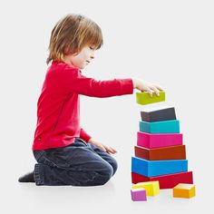MoMA stackable Topsy Turvey Blocks - for Addison's birthday?