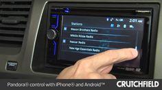 Sony XAV-602BT Car Stereo Display and Controls Demo | Crutchfield Video #Sony #CarAudio #CarReceiver