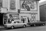 An Indian film advertised outside a Southall cinema: 1973 London Museums, London Photos, Historical Photos, 1970s, Nostalgia, Cinema, Street View, Framed Prints, Indian