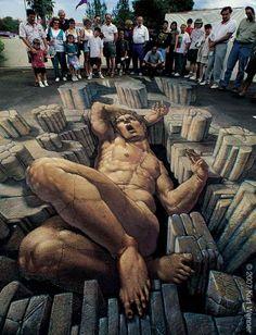 3D-Street-Art-by-Kurt-Wenner-2-620x811