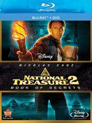 National Treasure 2: Book Of Secrets Blu-ray + DVD