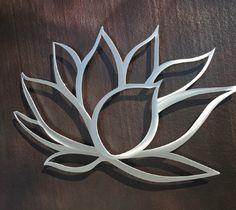 Lotus Flower Metal Wall Art | Inspire Metals