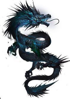 Resultado de imagen de blue dragon tattoo