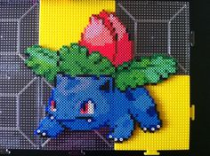 Pokemon Generation 1 002 Ivysaur perler beads by grumkey on DeviantArt