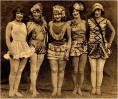 1930s circus performers