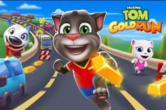 Talking Tom Gold Run for PC - Free Download - http://gameshunters.com/talking-tom-gold-run-pc-download/