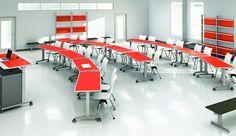 flexible classroom tables | Fixtures Furniture Dewey
