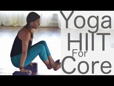 Yoga HIIT for Core With Fightmaster Yoga - YouTube