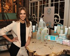 Jessica Alba launches an eco-friendly baby product line