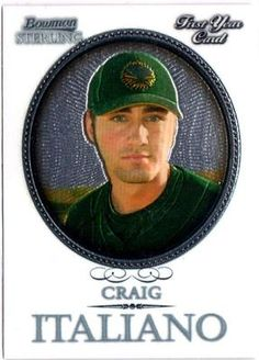 2006 BOWMAN STERLING CRAIG ITALIANO ROOKIE CARD in Sports Mem, Cards & Fan Shop, Cards, Baseball | eBay $0.01
