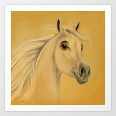 Horse Art Print by Veronica Ventress - $17.68
