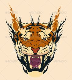 Realistic Graphic DOWNLOAD (.ai, .psd) :: http://realistic-graphics.ovh/pinterest-itmid-1004546858i.html ... Tiger Face ...  anger, animal, animals, black, face, feroce, flame, flames, power, rage, tiger, yellow  ... Realistic Photo Graphic Print Obejct Business Web Elements Illustration Design Templates ... DOWNLOAD :: http://realistic-graphics.ovh/pinterest-itmid-1004546858i.html