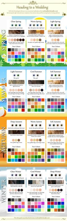 From Color Me Beautiful Spring, Summer, Autumn, & Winter Color Analysis (I'm cool winter) Light Spring, Warm Spring, Warm Autumn, Spring Summer, Summer Hair, Clear Winter, Clear Spring, Winter Typ, Seasonal Color Analysis