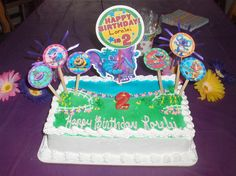 Grownups here is a super fun example~using our FREE #DIY Birthday kit :) submitted by a very creative Momma named Jeanette Wanzong! She made this for her precious Lorelei's 2nd Birthday!! We love this cake!!!!! So colorful and fun! http://thegigglebellies.com/free/ #GBbirthday