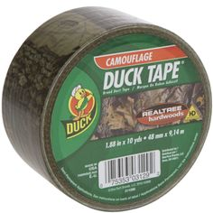 "Printed Duct Tape, Realtree® Camo, 1.88"" x 10yd- gonna decorate EVERYTHING!"