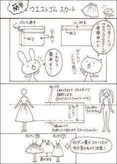お人形服 型紙・制作服講座