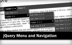 Navigation menu is essential for any website and blogs. This post listed 13+ simple & clean jQuery menu and navigation plugins for website.