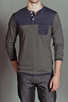 Quality henley on JackThreads