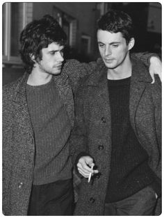 Ben Whishaw and Matthew Goode (Robert and William: the Rivals!)