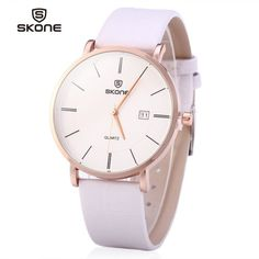 SKONE 9307 Ultrathin Leather Quartz Men Watch for Young Students #>=#>=#>=#>=#> Click on the pin to check out discount price, color, size, shipping, etc. Save and like it!