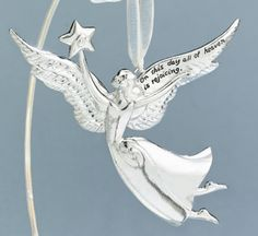 Seasons of Cannon Falls Serenity Angel Ornaments