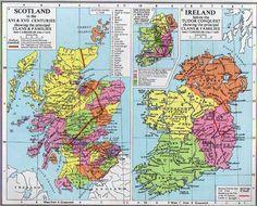 Scottish Ancestry Na Scottish Ancestry Names   Circa1600 Scottish & Irish Clans