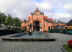Kuopio market hall Passport, Marketing, Mansions, House Styles, Places, Finland, Fancy Houses, Mansion, Manor Houses