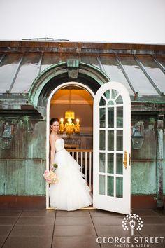 This bride belongs in that the doorway! Gorgeous. | www.georgestreetphoto.com