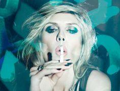 Electric Midnight | Heidi Klum | Rankin #photography | Hunger Magazine May2012