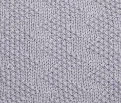 Try knitting this moss stitch zig-zag pattern: http://www.themakingspot.com/knitting/how-to/moss-stitch-zig-zag