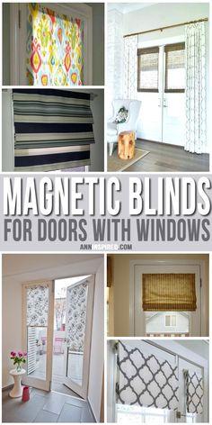 15 Garage Door Curtain Ideas Window
