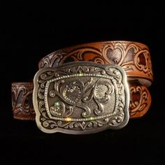Hearts Belt. Genuine leather, made in the USA!