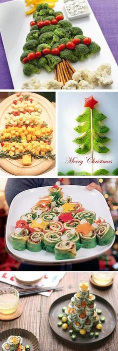 navidad, decorar platos, emplatar, recetas