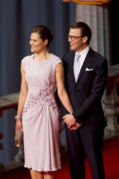 Princess Victoria of Sweden at Her Wedding Reception