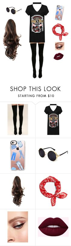 """Party monster"" by mayarocha31 ❤ liked on Polyvore featuring Cape Robbin, WearAll and Casetify"