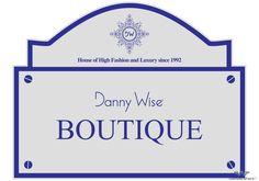 danny wise logo. boutique Caltanissetta Danny Wise