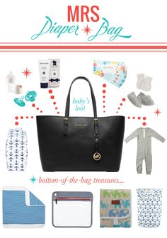 MRS. Diaper Bag >>> click to find links to each product!