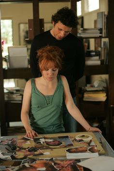 Claire with Jeremy Sisto as Billy in Six Feet Under 6 Feet Under, Jeremy Sisto, Lauren Ambrose, Hbo Tv Series, History Of Television, Freaks And Geeks, Gorgeous Redhead, Tv Land, Because I Love You