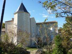 Gite Antignac en #Charente Maritime, 9 km Jonzac - Logis de Fontguyon